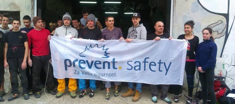 Prevent Safety podržao memorijalno boulder takmičenje BORIS TRAJKOVSKI 2015